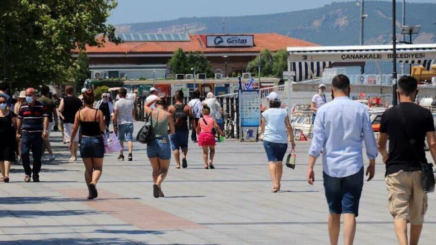 Çanakkale'de 38 dereceyle yeni sıcaklık rekoru kırıldı