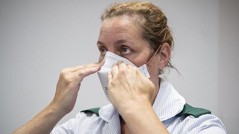 FFP3 maskeleri yüzde 100'e yakın koruma sağlıyor