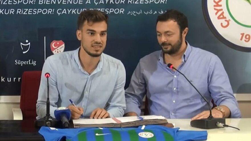 Çaykur Rizespor, Cemali Sertel ile 1 yıllık sözleşme imzaladı