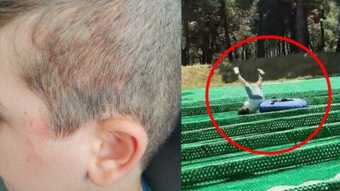 5 yaşındaki çocuk macera parkında ölümden böyle döndü