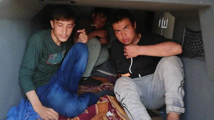 Kaçak göçmenler böyle yakalandı