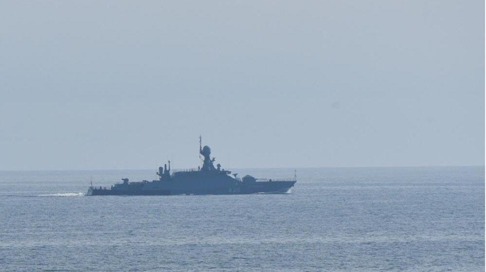 Karadeniz'de yeni kriz! Rusya görüntüleri yayınladı