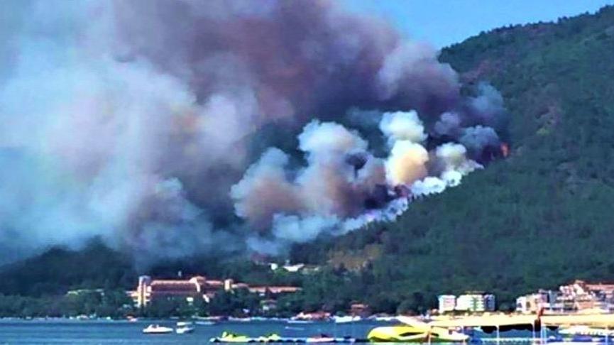 Marmaris Kent Konseyi'nden yangın açıklaması: Şüphelerin artmasına sebep olmaktadır