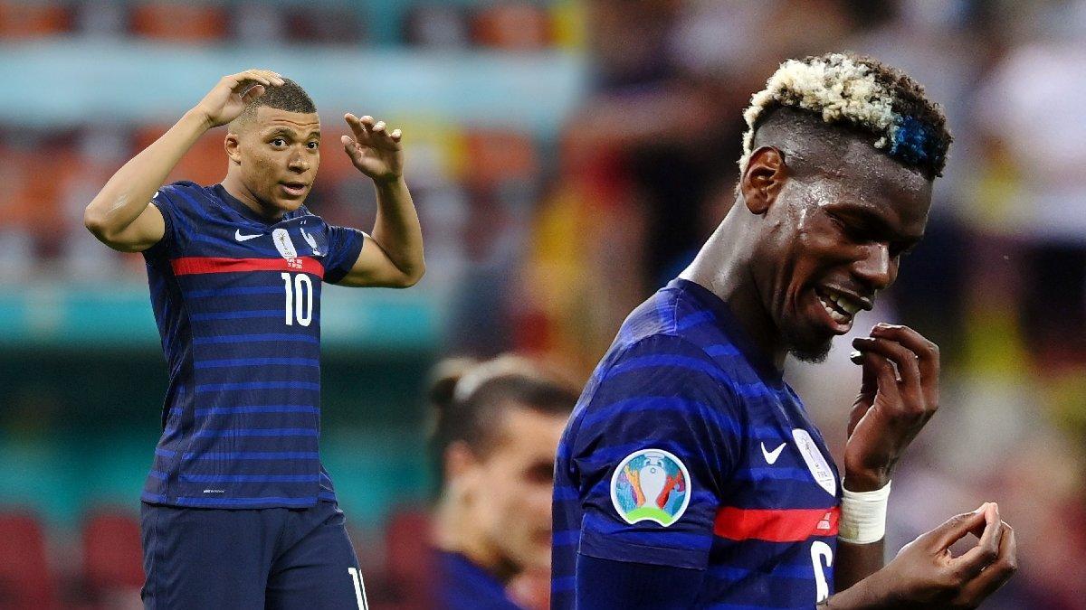 Fransa'nın EURO 2020'ye vedasının ardından tribünde aile kavgası çıktı