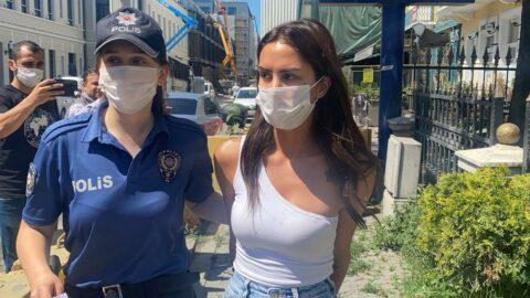 Ünlü oyuncu polise kafa atıp Sedat Peker'le tehdit etmiş