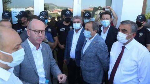 Vali talimat verdi, seçimde CHP'liler içeriye alınmadı