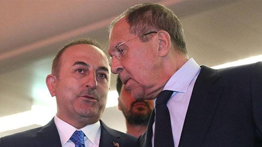 Çavuşoğlu ve Lavrov'dan flaş açıklamalar
