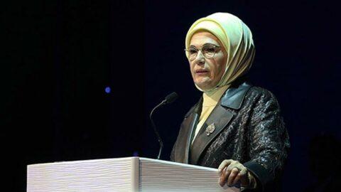 Emine Erdoğan'dan israf uyarısı