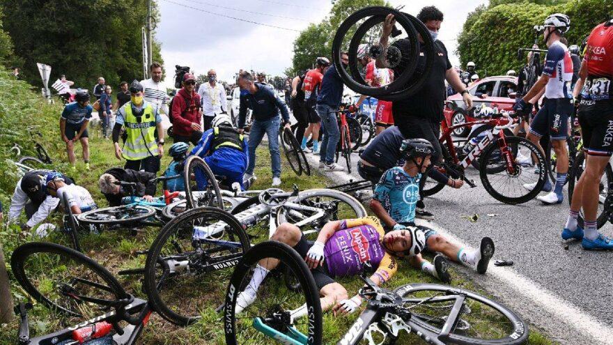 Fransa Bisiklet Turu'nu karıştıran kadın yakalandı