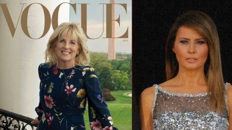 Melania'ya niyet Jill'e kısmet: First Lady Vogue dergisinin kapağında