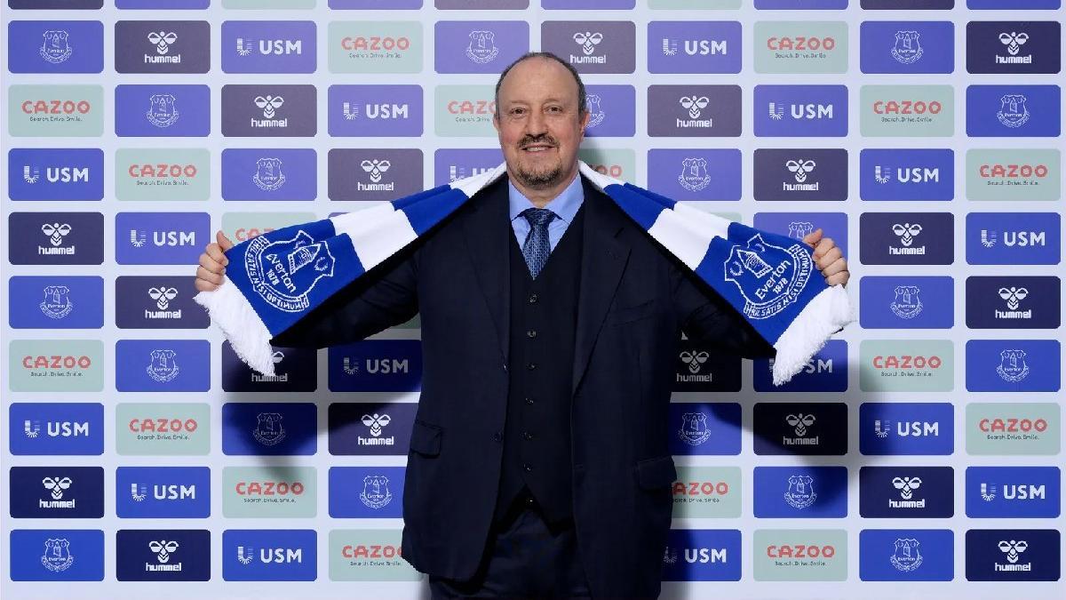Rafael Benitez, Everton'ın yeni teknik direktörü! 129 yıl sonra...