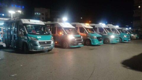 İzmir'de minibüs ücretlerine zam