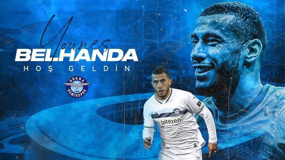 Younes Belhanda, Adana Demirspor'a imza attı