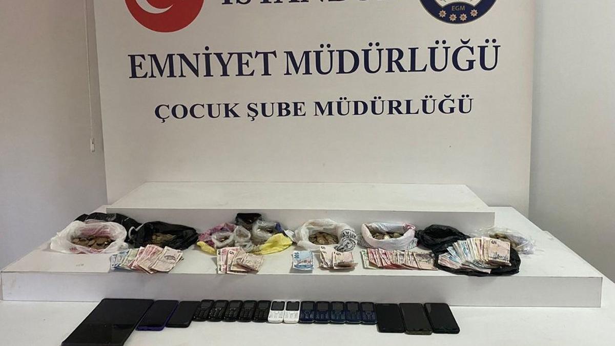 İstanbul'da dilenci operasyonu: 12 çocuk kurtarıldı