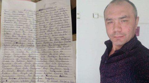 Kayınpederini ve bacanağını öldürdü... Cezaevinden mektup gönderdi