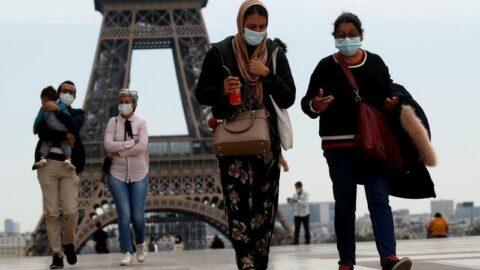 Fransa'da son 24 saatte 2 bin 664 yeni vaka