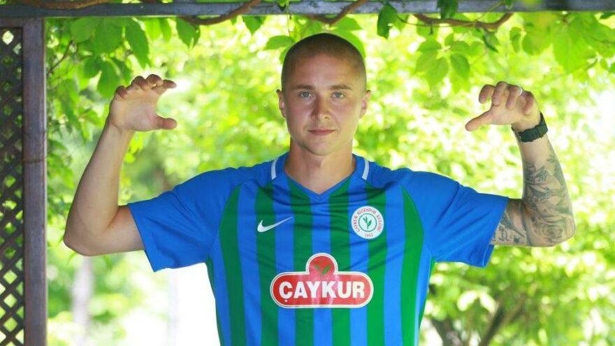 Çaykur Rizespor, Holmen ile 2 yıllık sözleşme imzaladı
