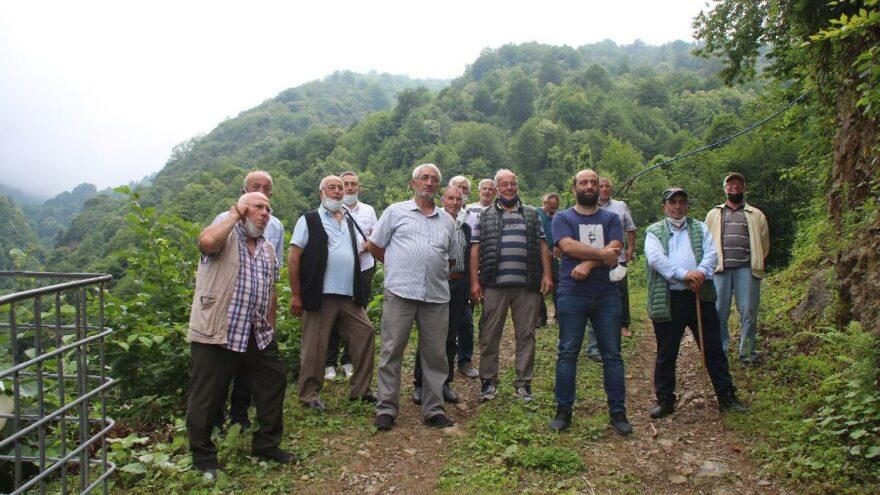 AKP'li, CHP'li, MHP'li Hemşinliler taş ocağına karşı birleşti