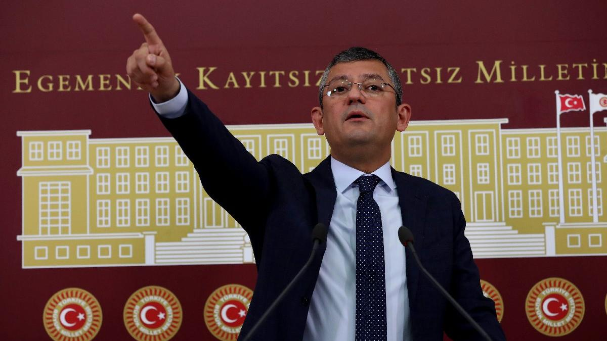 CHP'li Özel'den KİT Komisyonu'na Ziraat ve Halk Bankası başvurusu