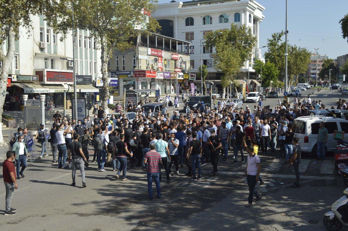 Adıyaman'da tütün satıcıları ve polis arasında arbede - Son dakika haberleri