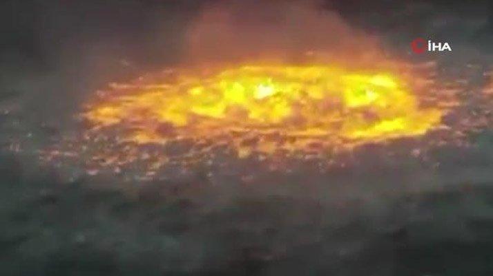 Meksika Körfezi'nde sualtı petrol boru hattında patlama