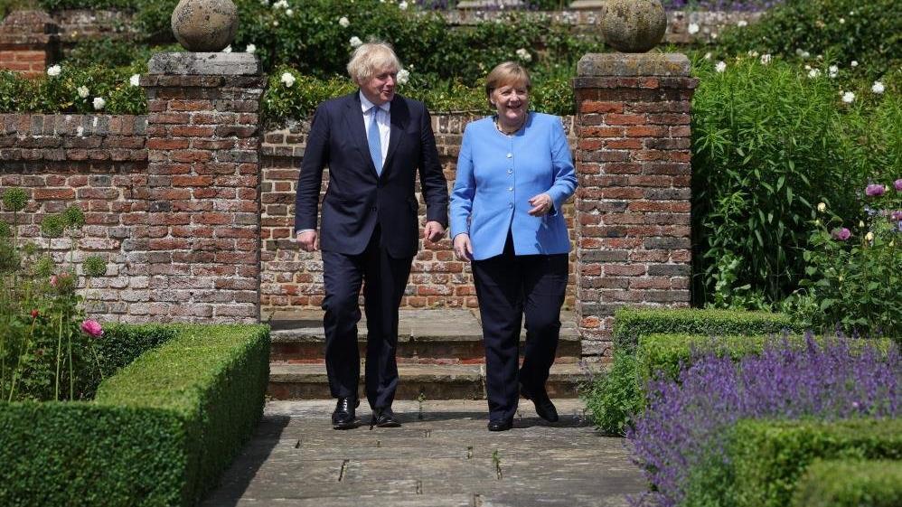 Merkel'den İngiltere'ye 'veda' ziyareti