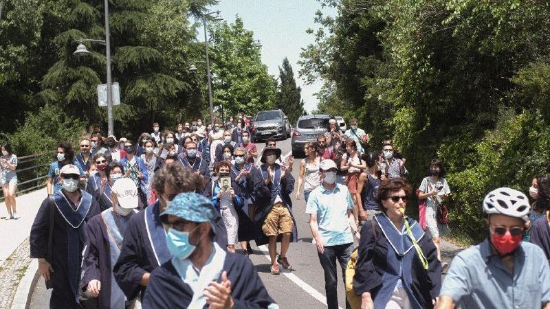 Boğaziçi Üniversitesi'nde rektör yardımcıları öğrencilerin tepkisiyle karşılaştı