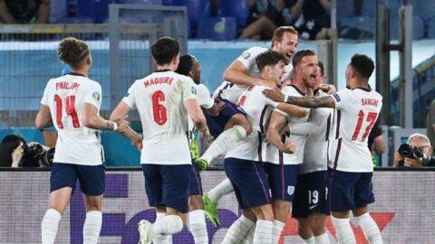 Son yarı finalist İngiltere! Ukrayna'ya karşı 4 gollü zafer (EURO 2020)