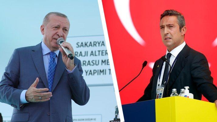 Ali Koç'un 3 Temmuz mektubuna Cumhurbaşkanı Erdoğan'dan destek yanıtı