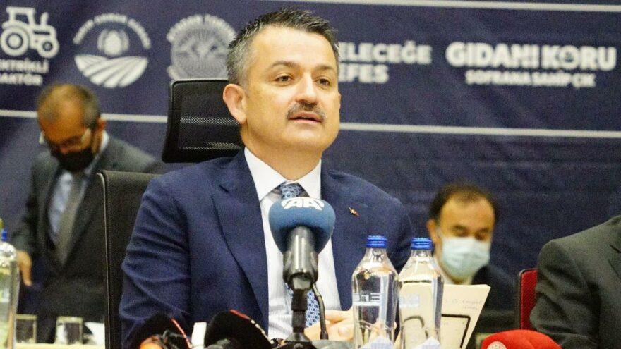 Bakan Pakdemirli: Türkiye gıda güvenliği sıkıntısı yaşamayacak