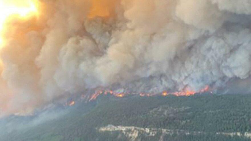 Kanada'da ısı kubbesi etkisi… 177 orman yangını sürüyor