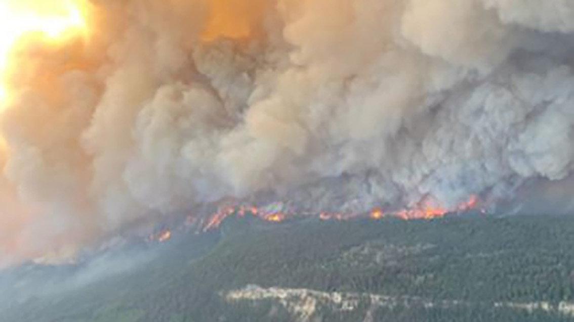 Kanada'da ısı kubbesi etkisi... 177 orman yangını sürüyor