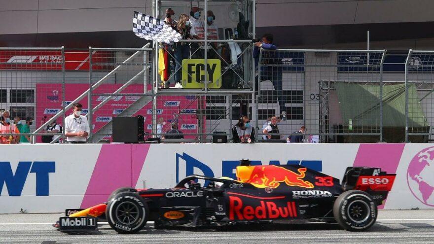 Avusturya'da Max Verstappen çok rahat kazandı