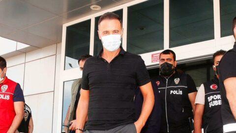Fenerbahçe'nin yeni hocası Vitor Pereira, İstanbul'a geldi