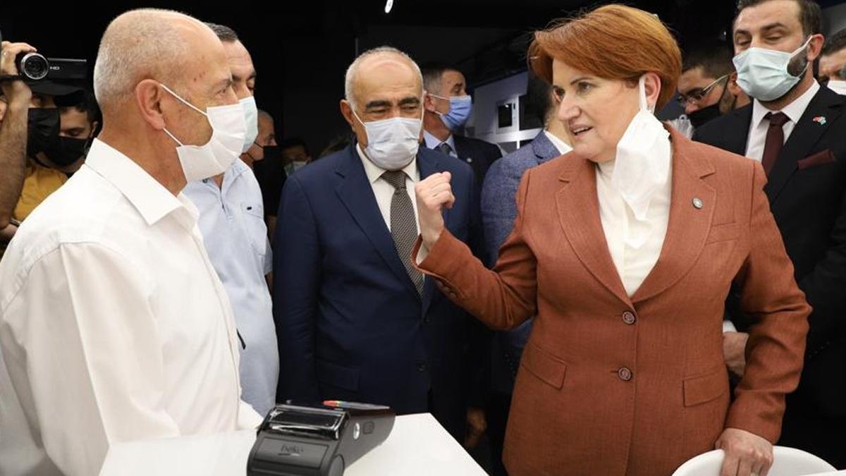 Akşener: Kanal İstanbul'da müteahhitler kazanıyor, yer kapatmış insanlar kazanıyor