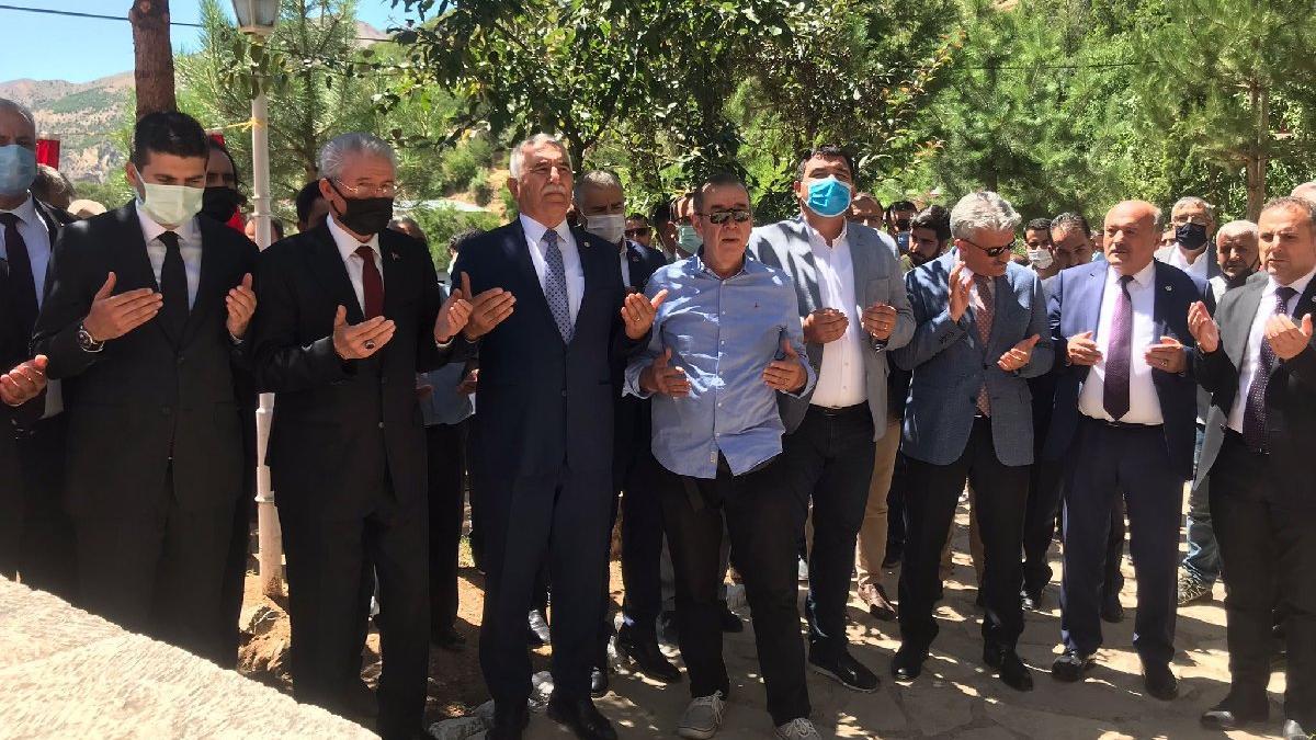 Başbağlar Köyü'nde, PKK'nın katlettiği 33 kişi törenle anıldı