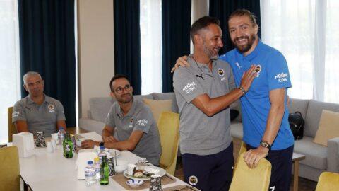 Fenerbahçe'de dikkat çeken fotoğraflar! Vitor Pereira, Caner Erkin ve Volkan Demirel...