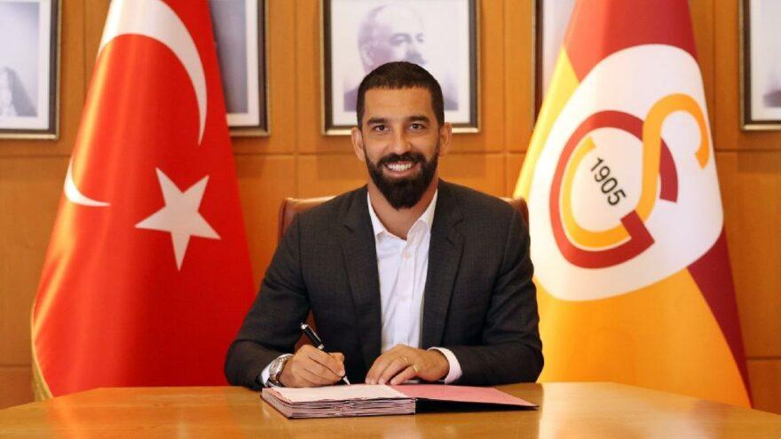 Galatasaray Arda Turan ile 1 yıl daha!