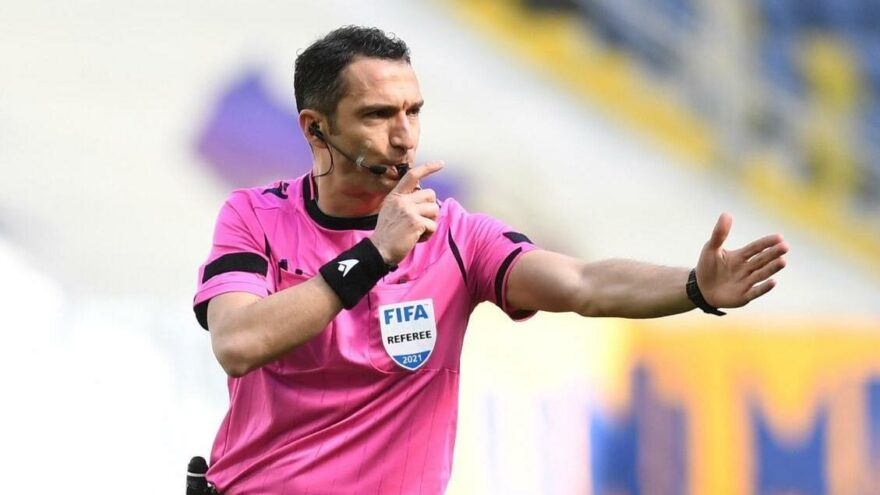 UEFA'dan Abdulkadir Bitigen'e görev