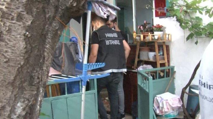 İstanbul'da operasyon: Şüpheli 74 yaşında cihaza bağlı çıktı