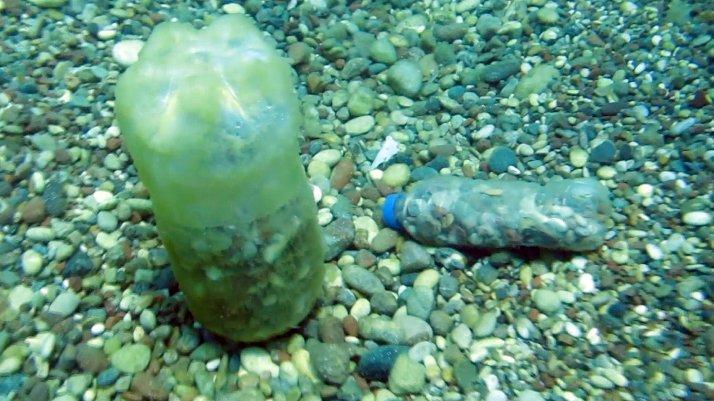 Konyaaltı'nda denizin dibi çöplüğe döndü
