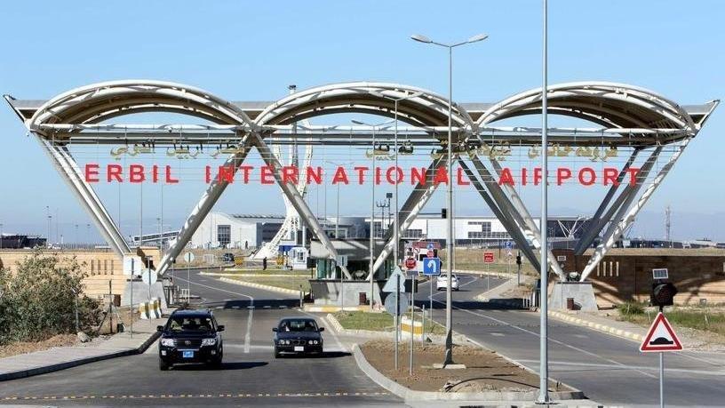 Erbil Havalimanı'na roketli saldırı