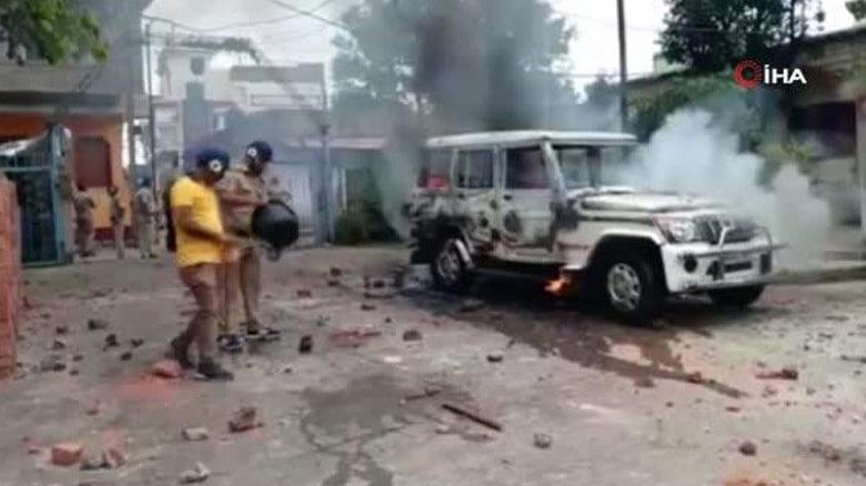 Hindistan'da bir Müslüman gözaltında öldü! Halk sokaklara döküldü