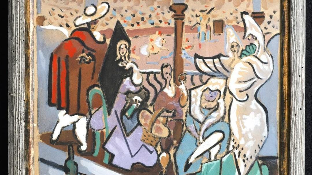 50 yıldır saklı kalan Picasso eseri 150 bin dolara satıldı