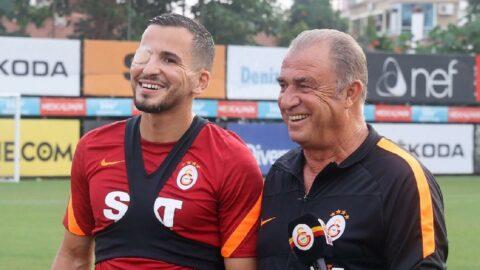 Fatih Terim'den Omar Elabdellaoui açıklaması! İlk kez takımla çalıştı...