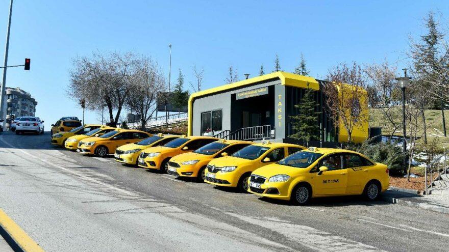 Ankara'da yeni model taksi durakları için ihale tarihi belli oldu
