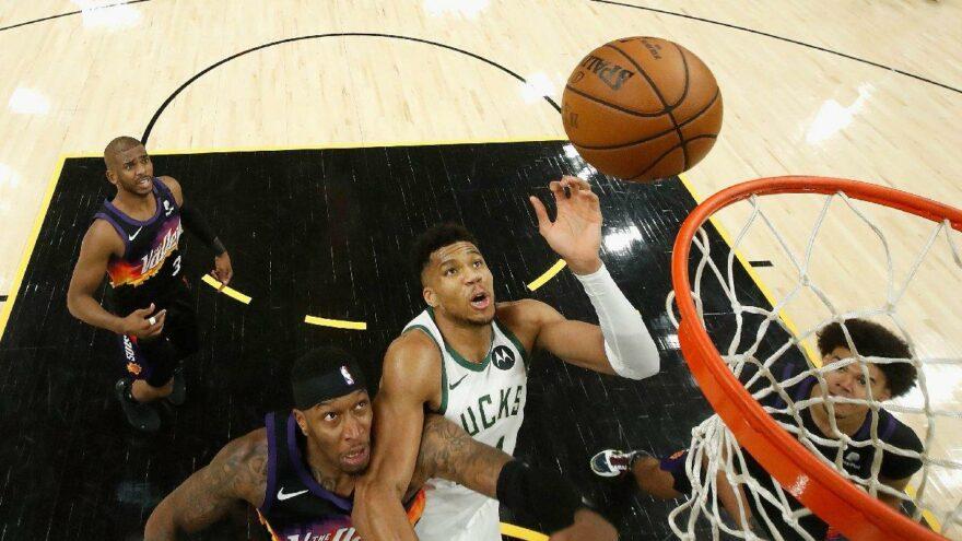 NBA Final Serisi'nde ilk maç Phoenix Suns'ın