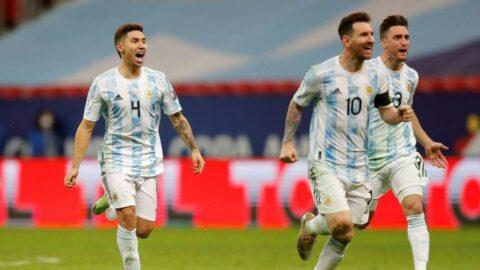 Copa America'da finalin adı Arjantin-Brezilya!