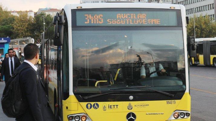 İETT otobüs ihalesini iptal etti…