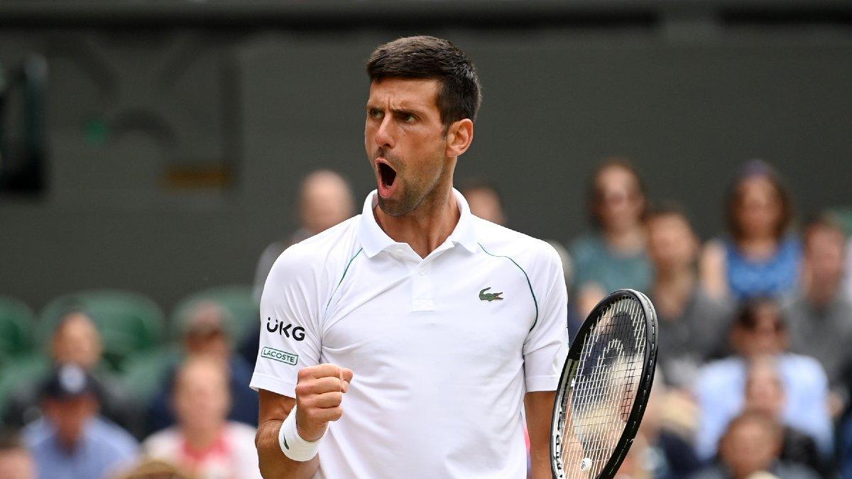 Novak Djokovic, Wimbledon'da yarı finalde
